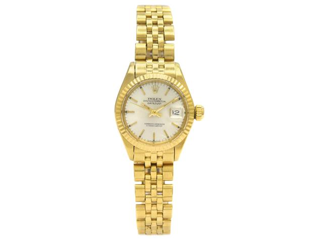 Rolex,, Oyster Perpetual, Datejust, Chronometer, 18K guld. Utropspris: 26 000 kronor.