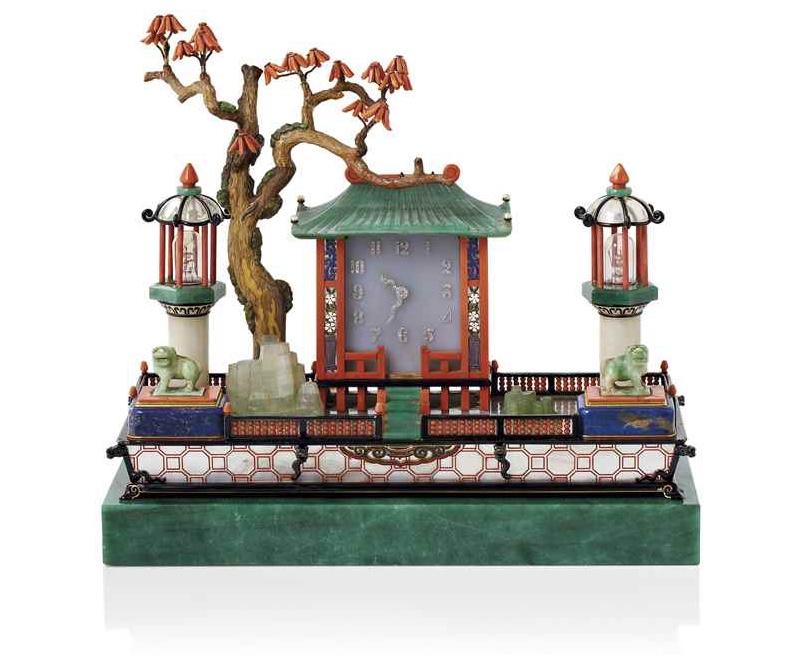 CARTIER - Japanisches Schreibtisch-Set im Stil des Art déco, ca. 1926 Christie's