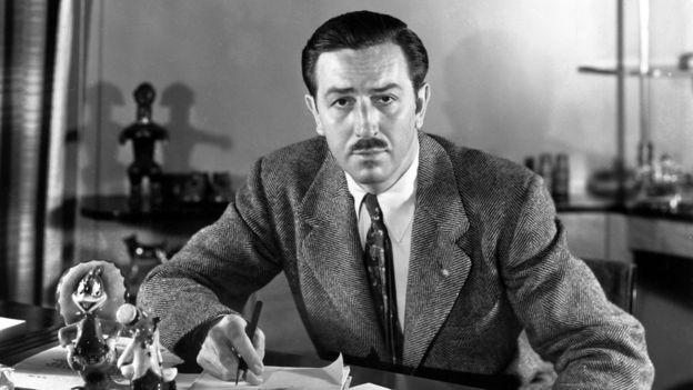 Walt Disney (1901 - 1966) Image via BBC
