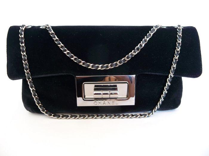 Chanel 2.55 Single-flap evening bag