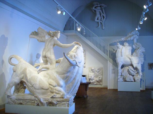 Millesgården_ateljé_Carl-Milles_skulptur_Olga Milles_Lidingö