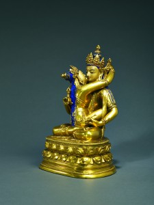 Rossi & Rossi has participated in the fair every year since its inception in 2006. And the exhibitor keeps surprising us every year. This bronze sculpture of Vajrasattva Shakti from the School of Zanabazar in Mongolia, dating from the late 17th to early 18th century, is one of the masterpieces of Rossi & Rossi's exhibition at Fine Art Asia 2016. Usually Vajrasattva was depicted as a single figure, making this image rare. Zanabazar (1635-1723) was a highly significant Asian artist who distinguished himself in a range of disciplines, similar to the great Renaissance masters Leonardo da Vinci and Michelangelo.