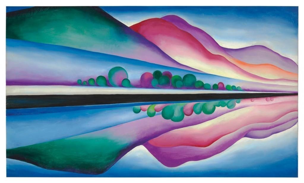 Lake-George-Reflection, 1921-1922. Immagine via Barnebys