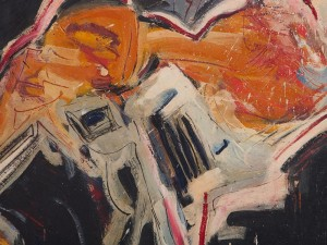 Marianne Hopf, Painting, Abstract Depiction, 1987