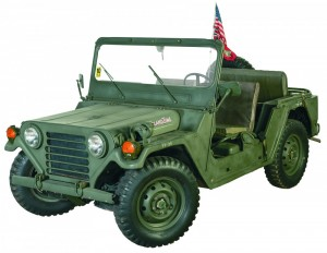 Military utility truck
