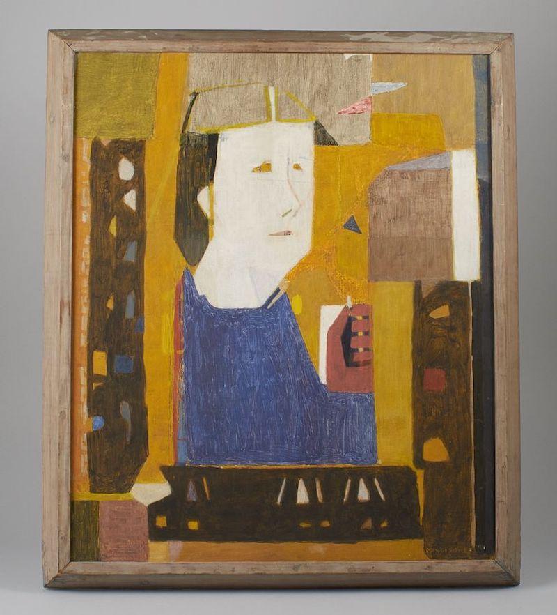 """I riktig Stig Lindberg-anda är Randi Fischers """"Agnes"""". Signerad, daterad 1951. Utrop 6 000 kronor"""