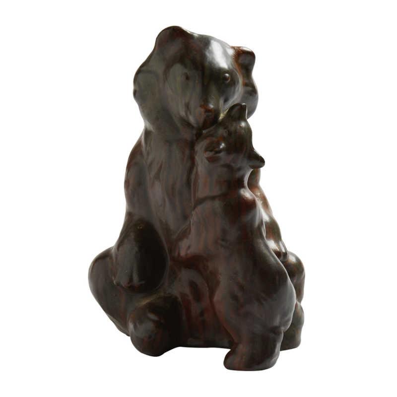 Sculpture produite par la compagnie « Holmegaard », Image: EVERCLASSIC
