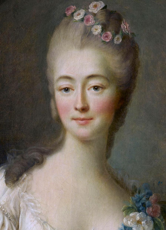 Madame du Barry jeune, image via Château de Versailles