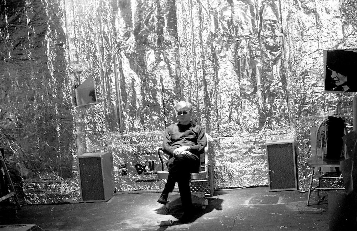 Andy Warhol et la Silver Factory Image via top-img.com