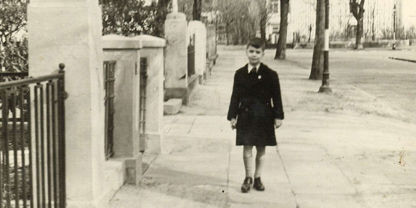 Karl Lagerfeld as a child. Image: Blackaphillyated