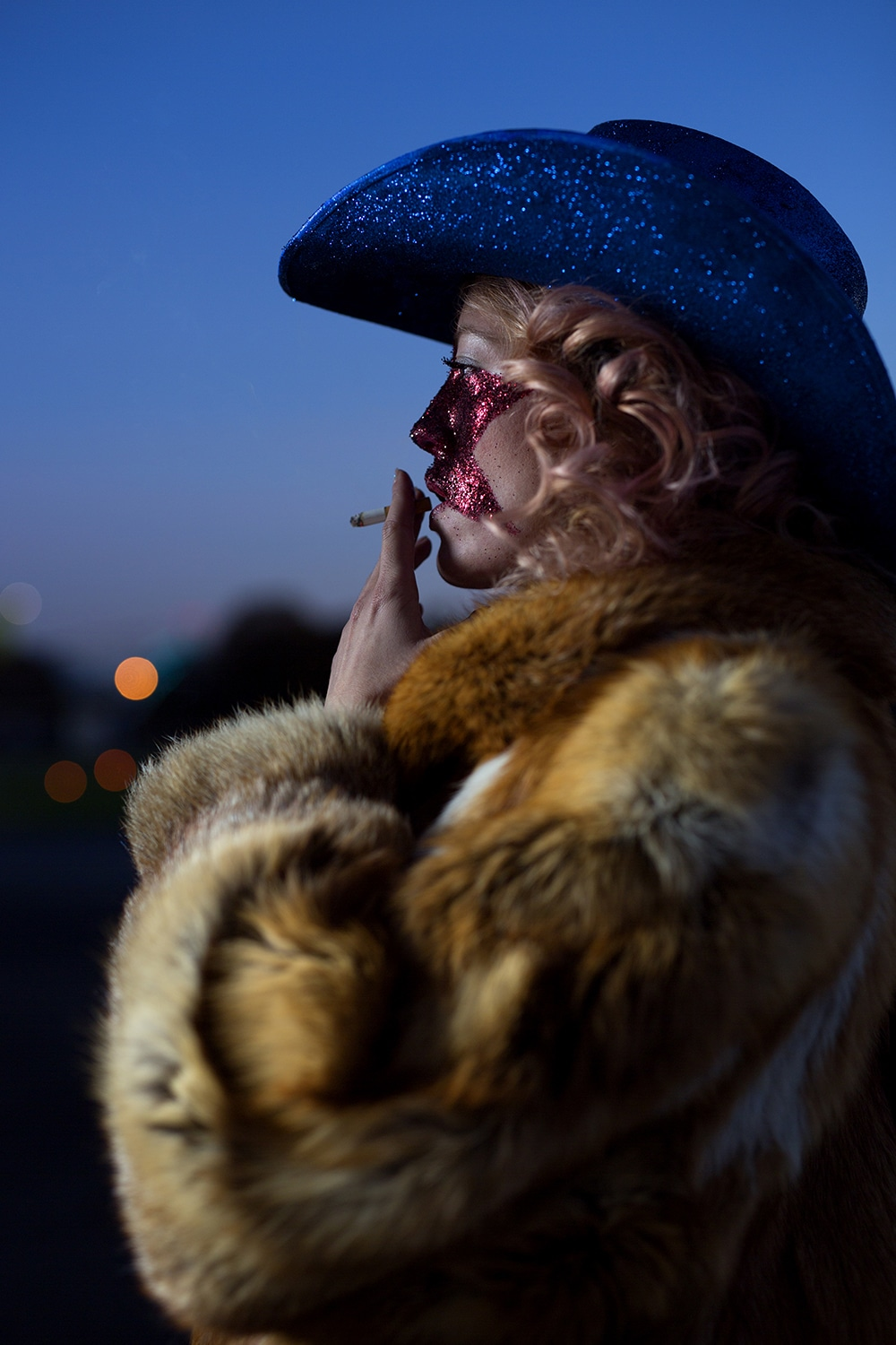 FRENCH COWBOY, Before the show, Acid Gallery, image via Art Up!