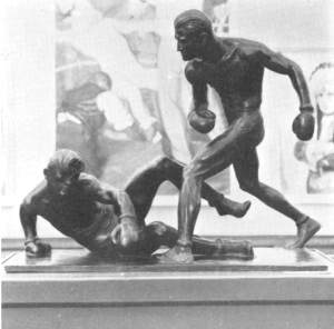 Knockout, Mahonri Mackintosh Young. Image: olympic-museum.de