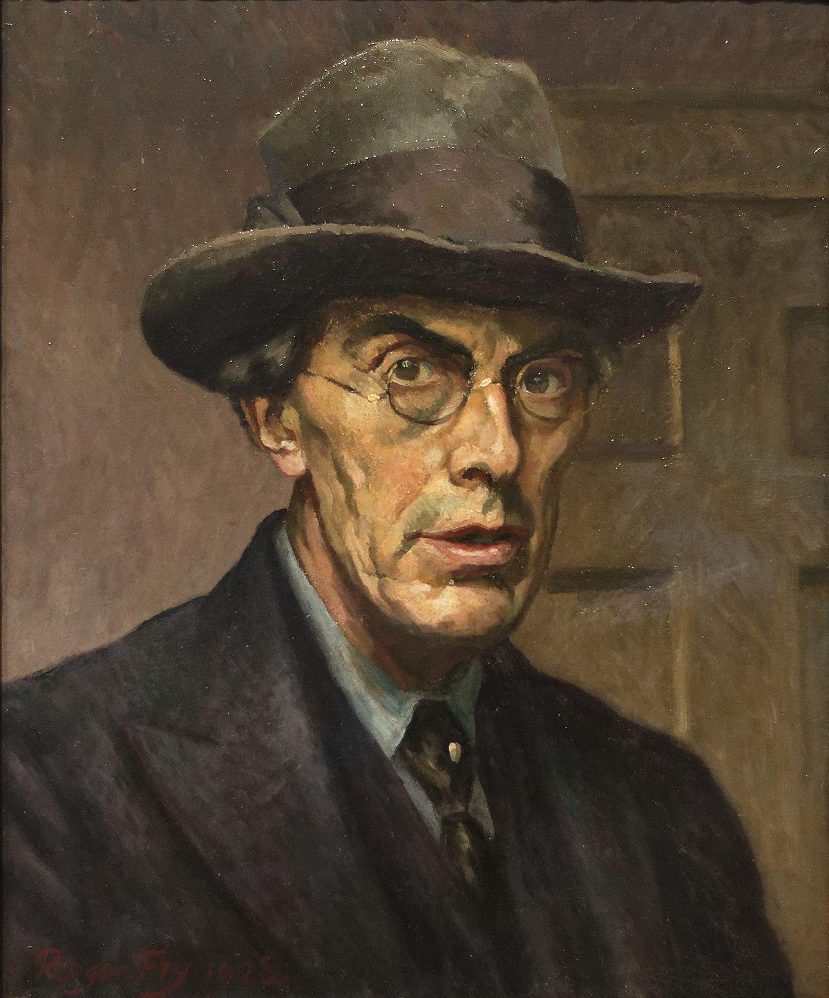 Roger Fry, självporträtt. Bild: Wikimedia Commons