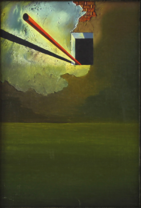 Surrealisten Dalís nyupptäckta verk utan titel.