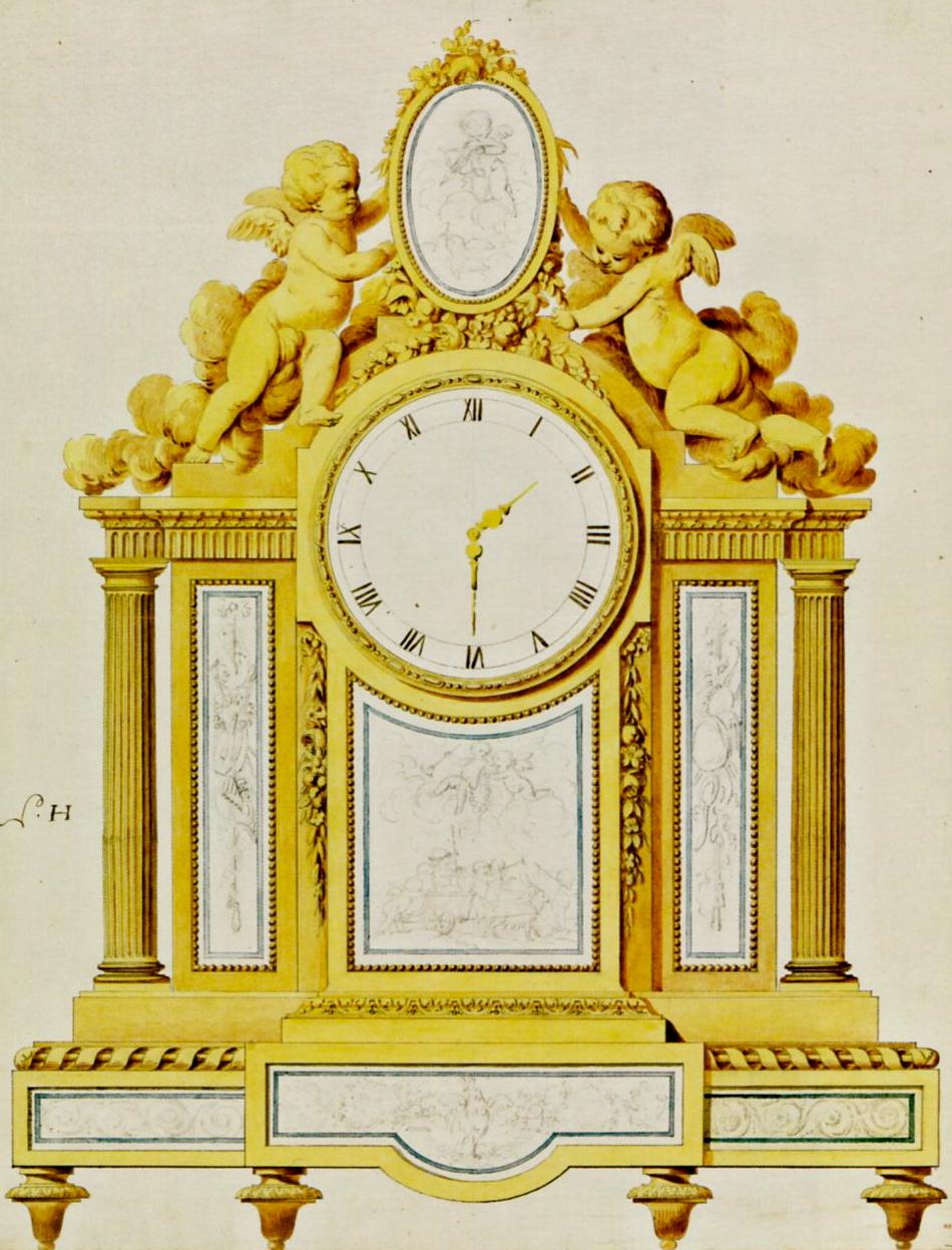 L'une des planches envoyées par Daguerre au duc de Saxe-Teschen et à son épouse