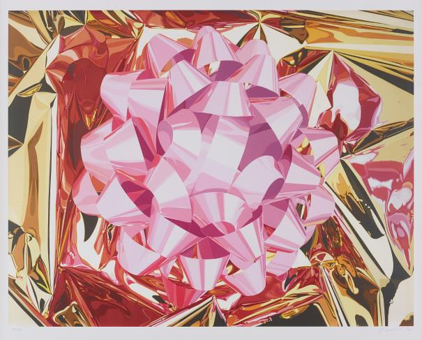 JEFF KOONS, Pink Bow, 2013. Low estimate: 9 100 USD. Phillips.