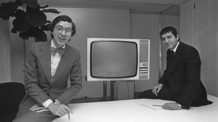 Maurice and Charles, right, Saatchi in 1976: M&C Saatchi was started by the brothers following their departure from Saatchi & Saatchi after a clash with investors