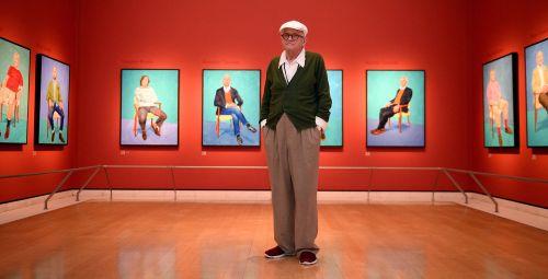 David Hockney: 82 Portraits and 1 Still Life – Royal Academy