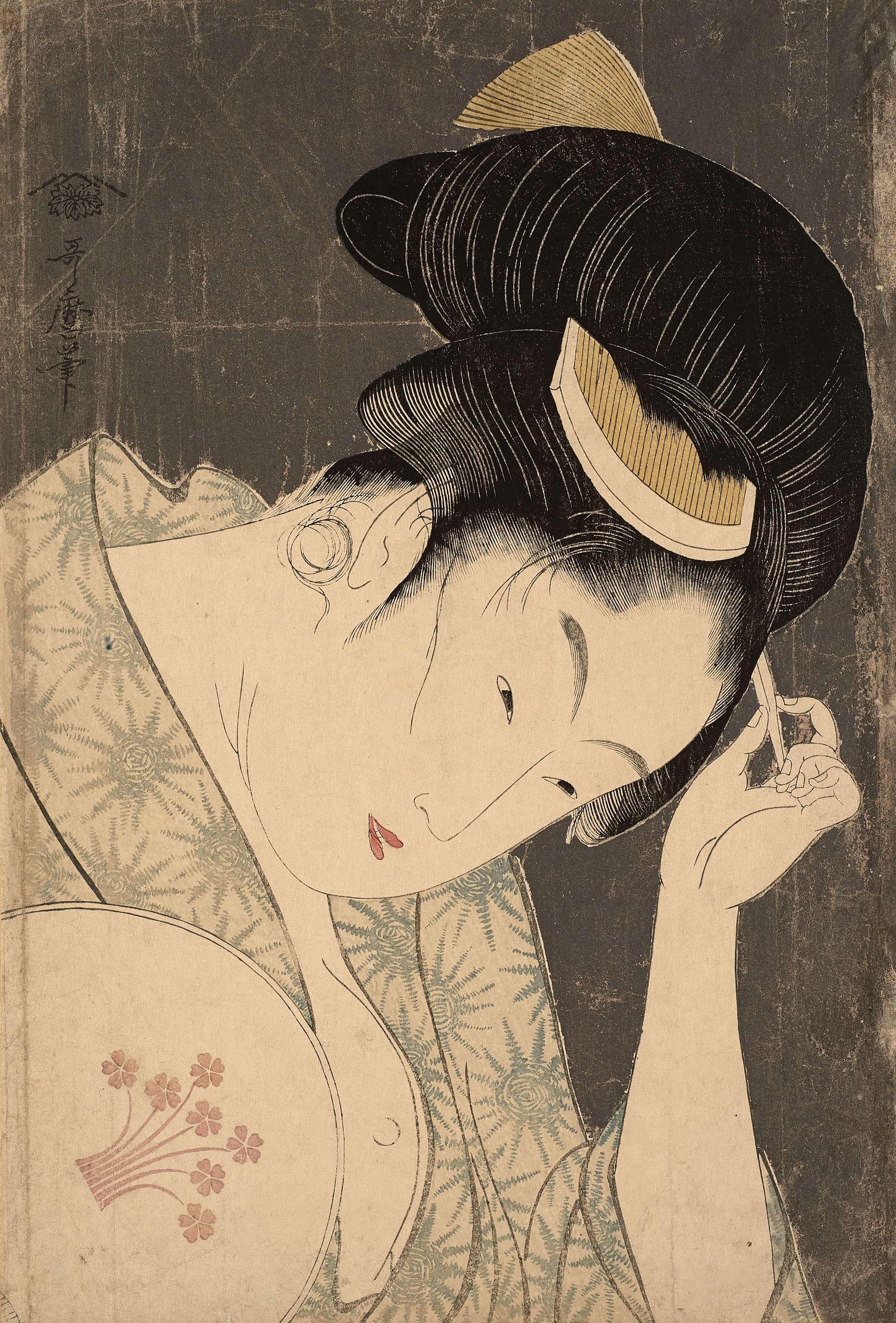 Evident Love, Kitagawa Utamaro