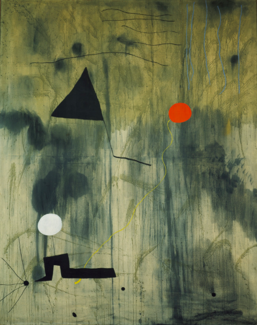 Joan Miró, Birth of the World, 1925   Foto: MoMA