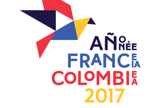 Le logo officiel de l'Année France-Colombie Image via colombiafrancia2017.com