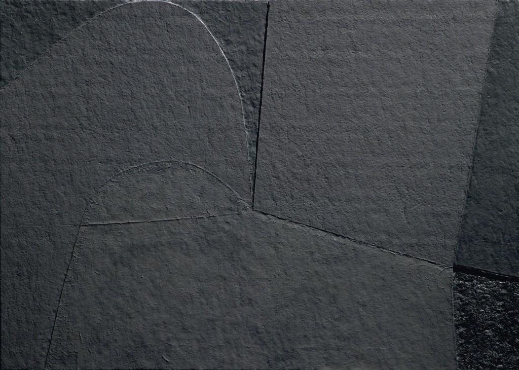 "Alberto Burri, ""Nero Cellotex"", 1991. Foto: Dorotheum"