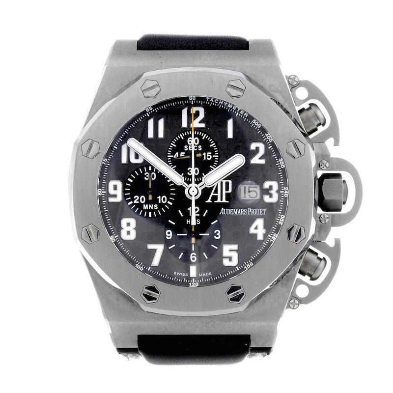 Audemars Piguets klocka 'Royal Oak Offshore T3 chronograph' som lät tillverkas inför filmen Terminator 3.