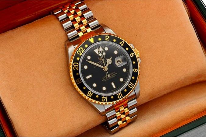 Rolex GMT-Master II, Gold/Stahl, 1995