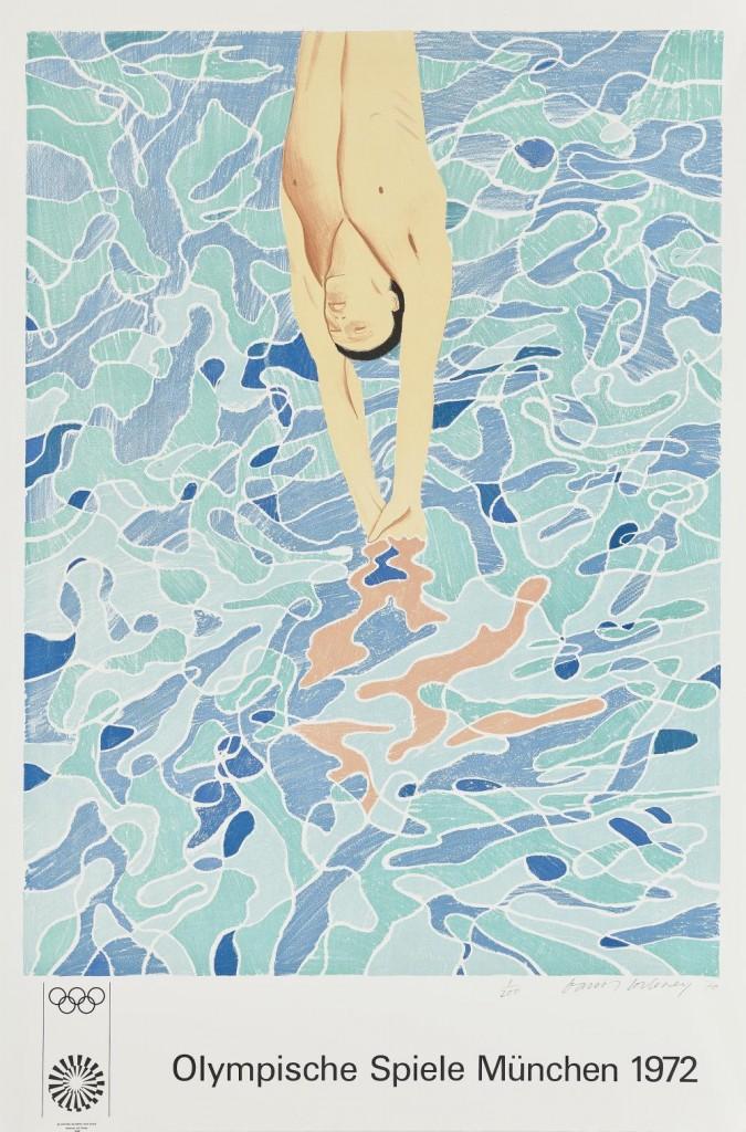 Mappenwerk mit 29 Plakaten zu den XX. Olympischen Spielen in München 1972