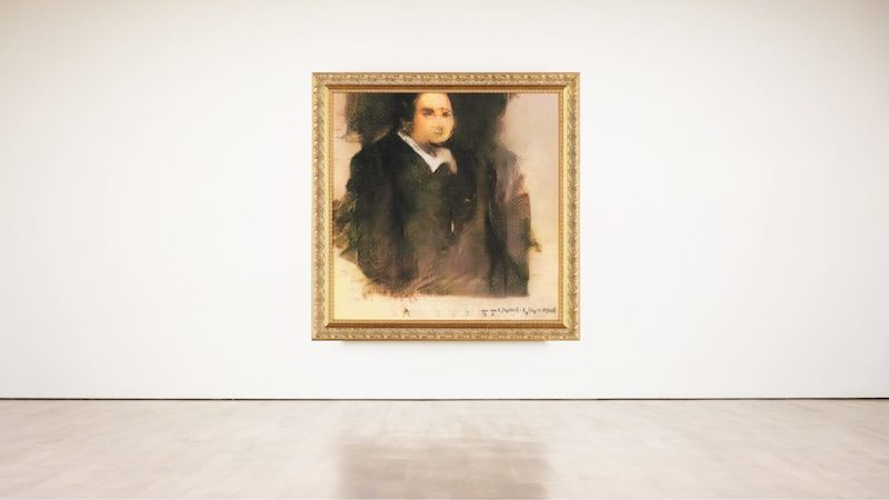 «Portrait d'Edmond Belamy», un tableau créé par une intelligence artificielle développée par le collectif d'artistes français Obvious, vendu en octobre dernier pour 432 000 dollars