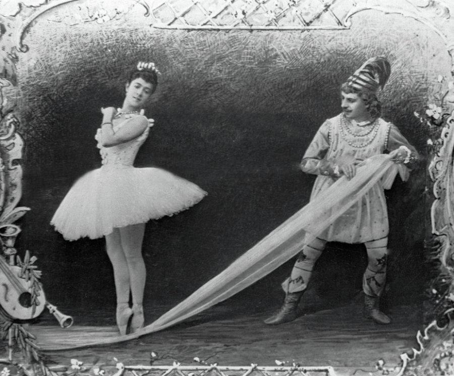 Ur baletten Nötknäpparen, 1892. Bild Wikipedia