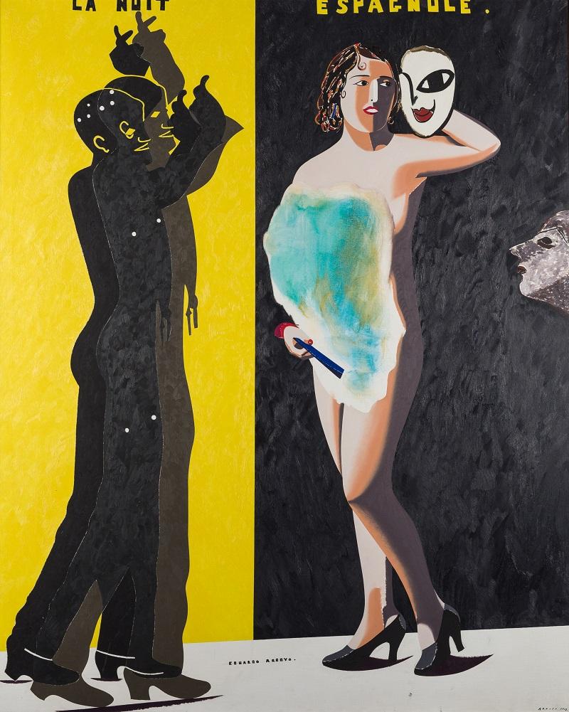 """EDUARDO ARROYO (Madrid 1937). """"La nuit Espagnole"""" (1983)"""