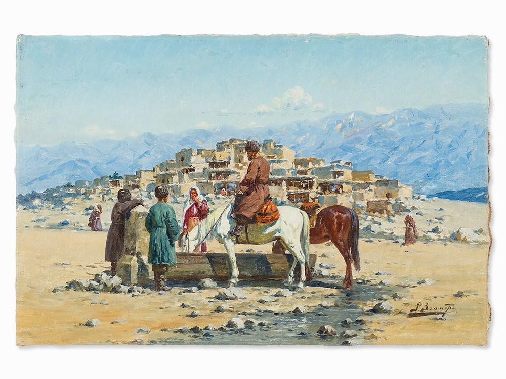Richard Karlovich Zommer (1866-1939), At the Trough, 1930s. Schätzpreis: 50 000 EUR. Auctionata