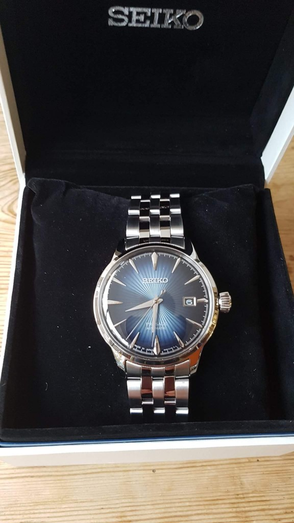 Unboxing the Seiko Cocktail Presage, SRBP41(photo:K.Franke)