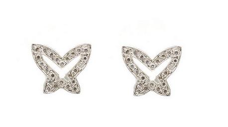 Boucles d'oreilles papillons Estimation basse:  270 € Lamas Bolano