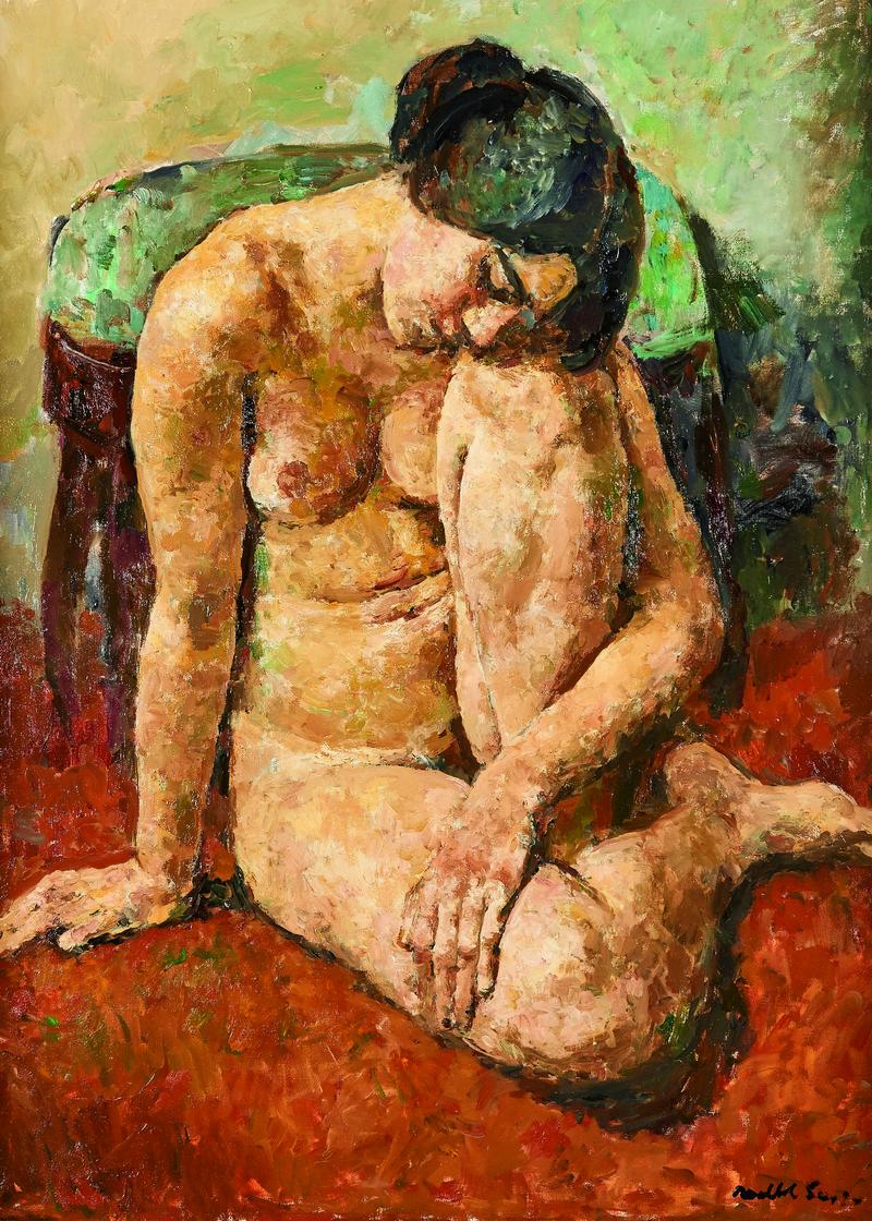 JOSEP MARIA MALLOL SUAZO. Desnudo femenino