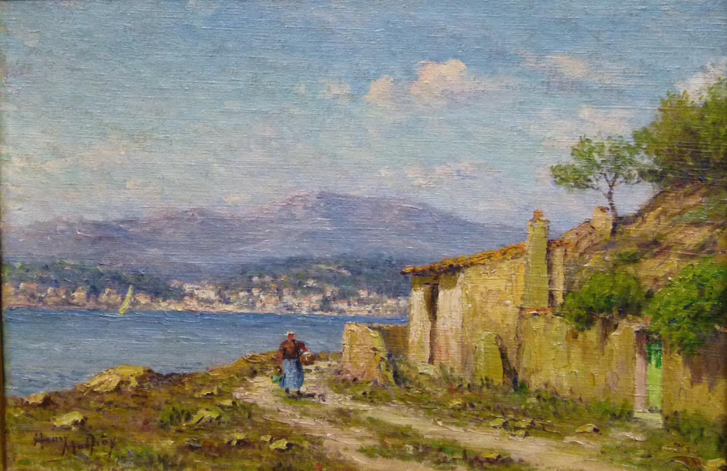 Henry Malfroy (1895 – 1944 Paris), Südfranzösische Landschaft, signiert, Öl/Lwd. Schätzpreis: 4.500 EUR