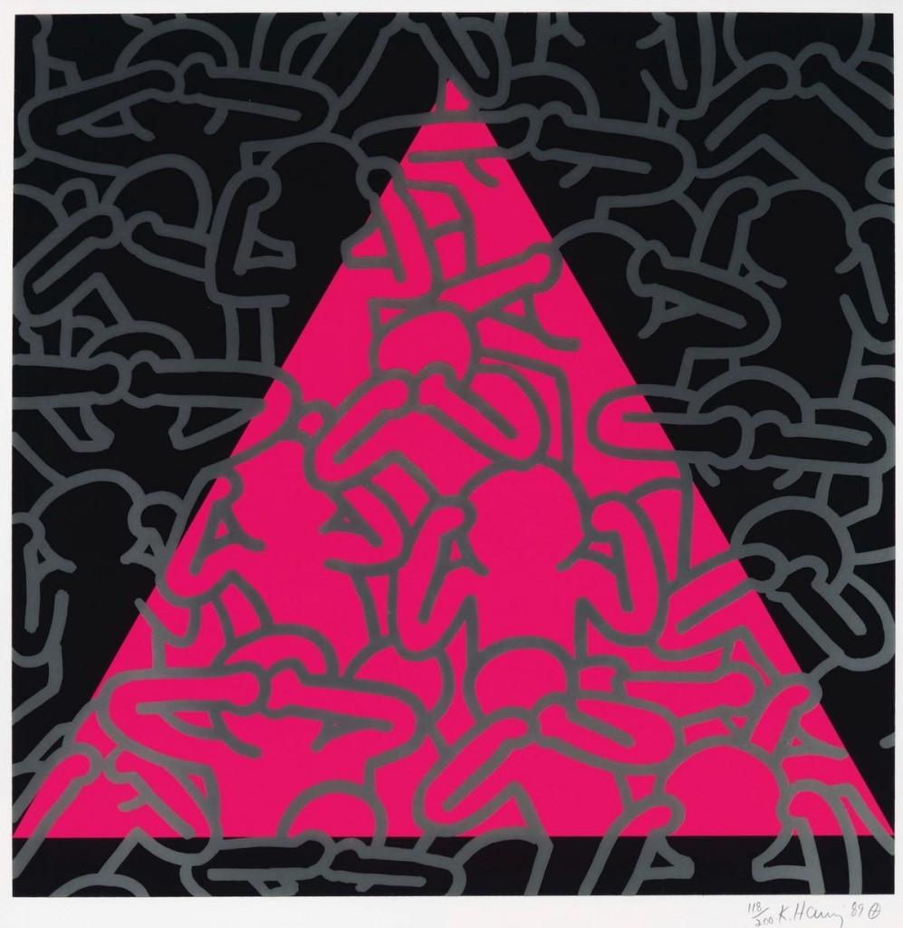 Keith Haring, 'Silence Equlals Death' | Foto: Barnebys