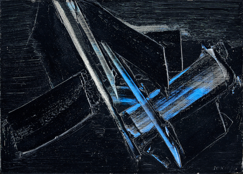 störst var intresset för en målning av Pierre Soulages, en av de främsta franska samtida konstnärerna, som såldes för 7,47 miljonor kronor (utrop 1,2 - 1,5 miljoner kronor). Budgivningen var synnerligen rafflande och mycket intensiv med 40 uppkopplade telefonbudgivare från hela världen, vilket torde vara rekord i svensk auktionshistoria