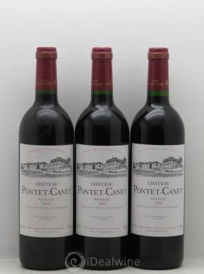 Château Pontet Canet 5ème Grand Cru Classé 2002 Estimation basse: 195 €