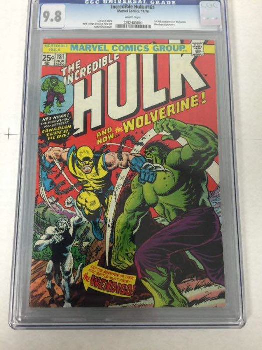 The Incredible Hulk #181, published in 1974