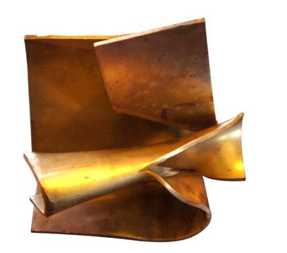 Galerie Chevalier Pierre Tual, Trésor de Locquirec I, 2014, H. 13 cm x 14 cm x 10 cm, Laiton, Pièce unique