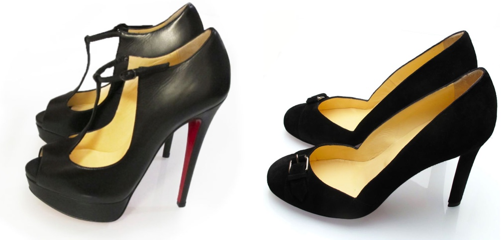"Links: CHRISTIAN LOUBOUTIN Peeptoes ""Alta Poppins"" 