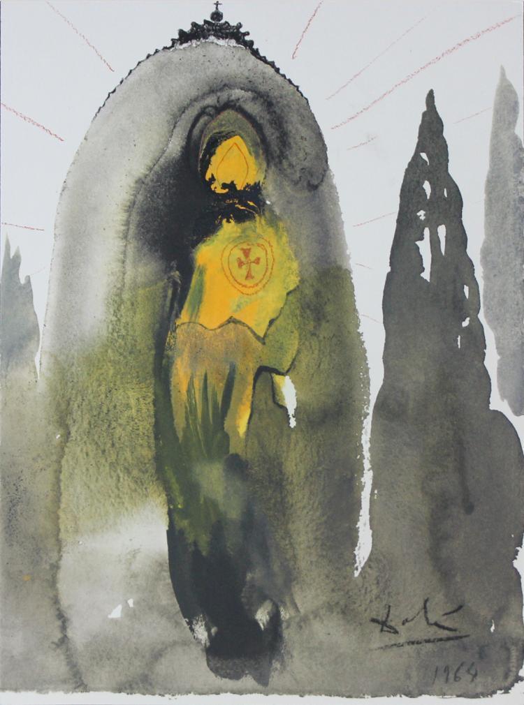 """SALVADOR DALÍ - Lithographie aus """"Biblia Sacra"""", 1969"""