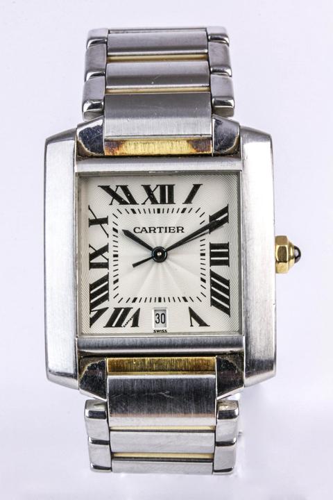 Cartier Watch. Photo: John Pye