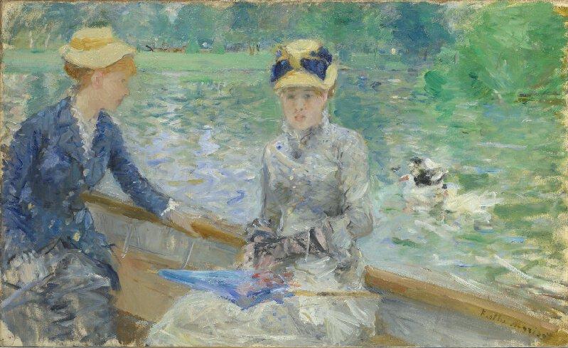 Berthe Morisot, « Jour d'été », circa 1879, image via National Gallery