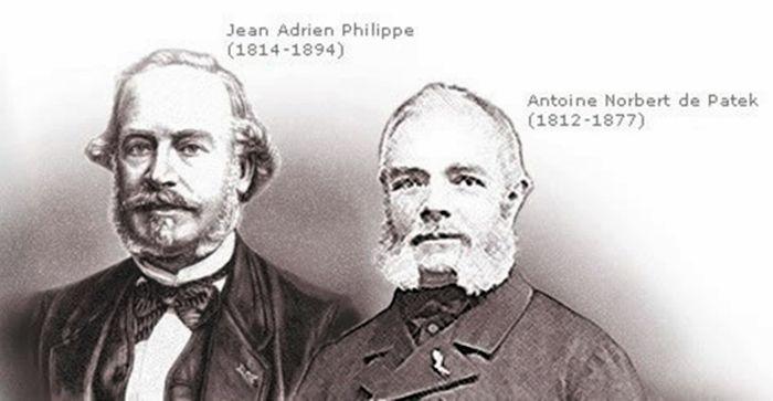 Antoni Patek und Adrien Philippe | Abb. via Pinterest