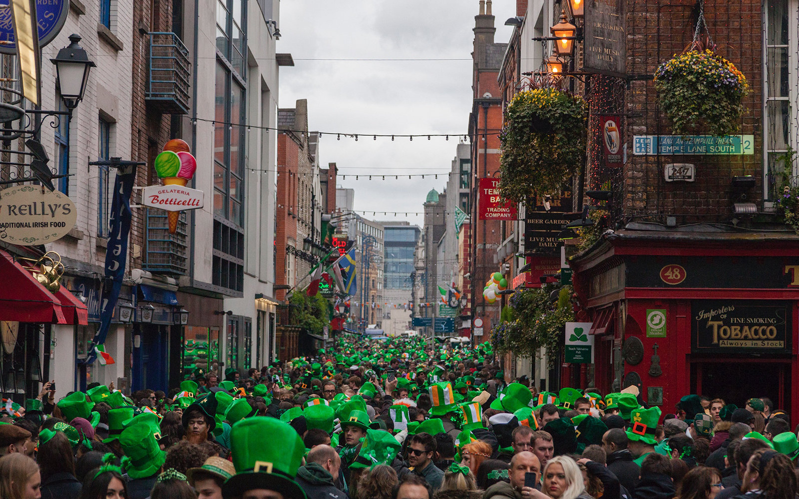 St. Patrick's Day in Dublin. Image: Getty Images