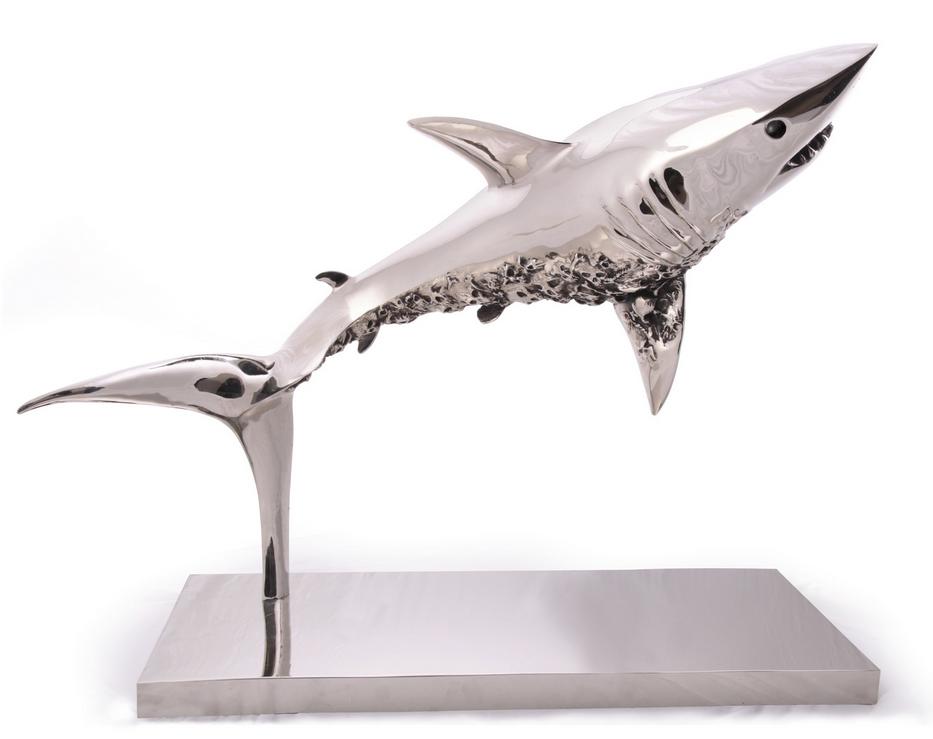 Thierry Benenati (NÉ EN 1963) Requin Cimetière