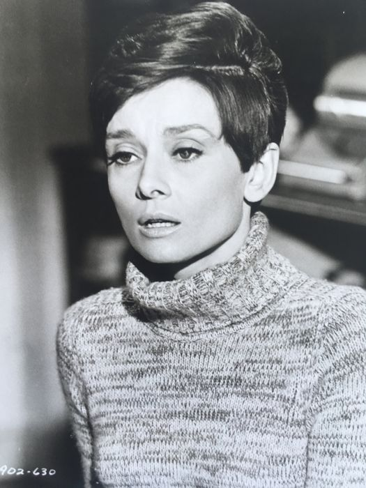Audrey Hepburn i filmen Wait until dark. Foto: Catawiki.